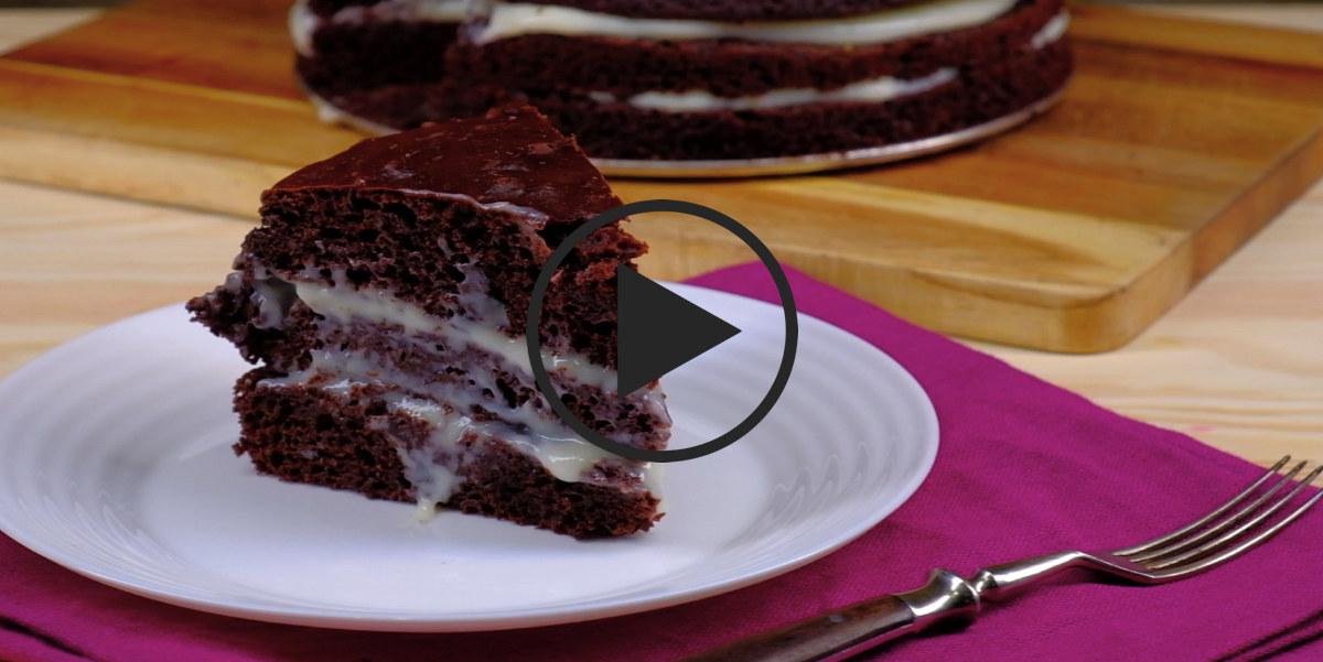 Сумасшедший пирог: видео-рецепт
