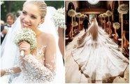 Fashion: Звёздная роскошь: как выглядит свадебное платье за почти миллион евро, расшитое 500 000 кристаллов Swarovski