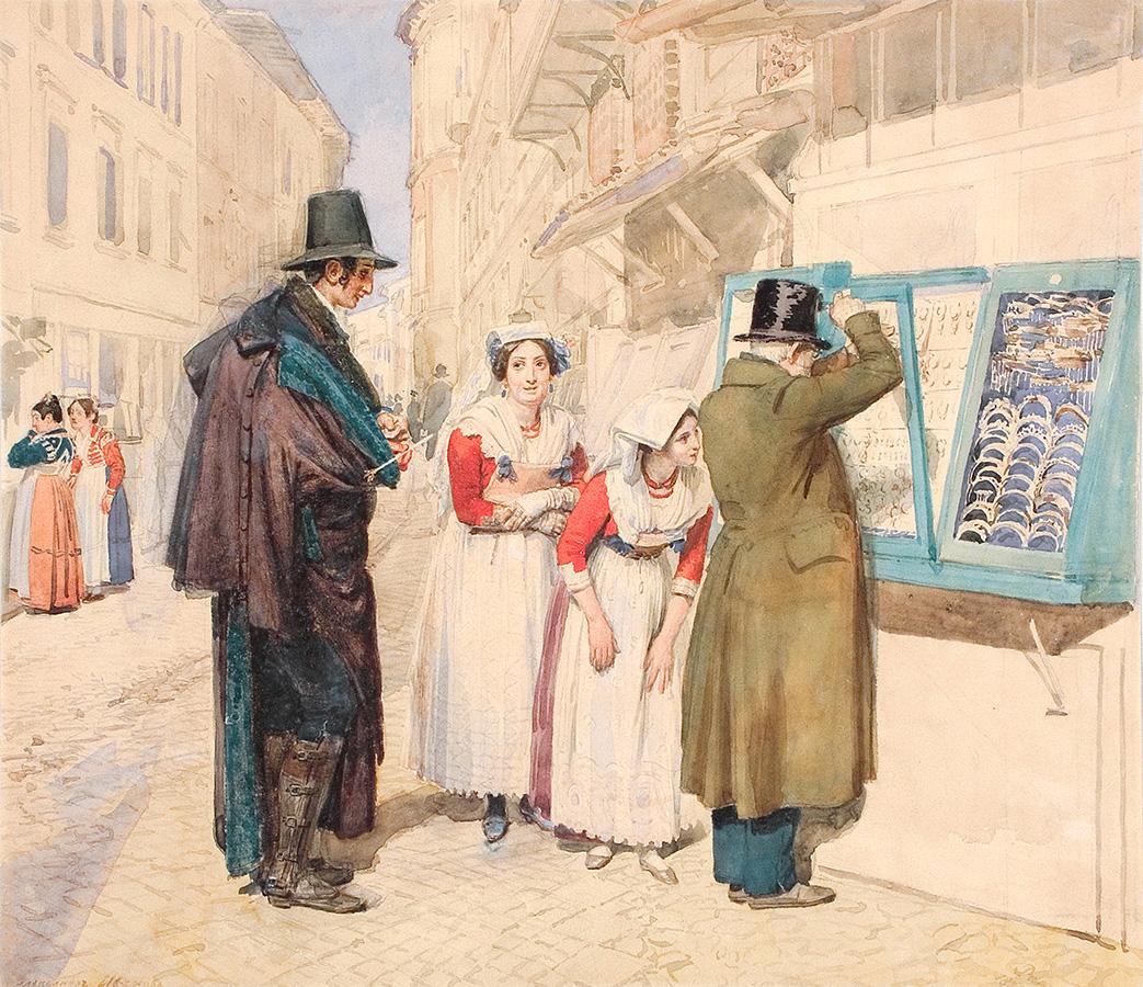 Куда сходить: выставка «Конец прекрасной эпохи. Рисунок первой половины XIX века»