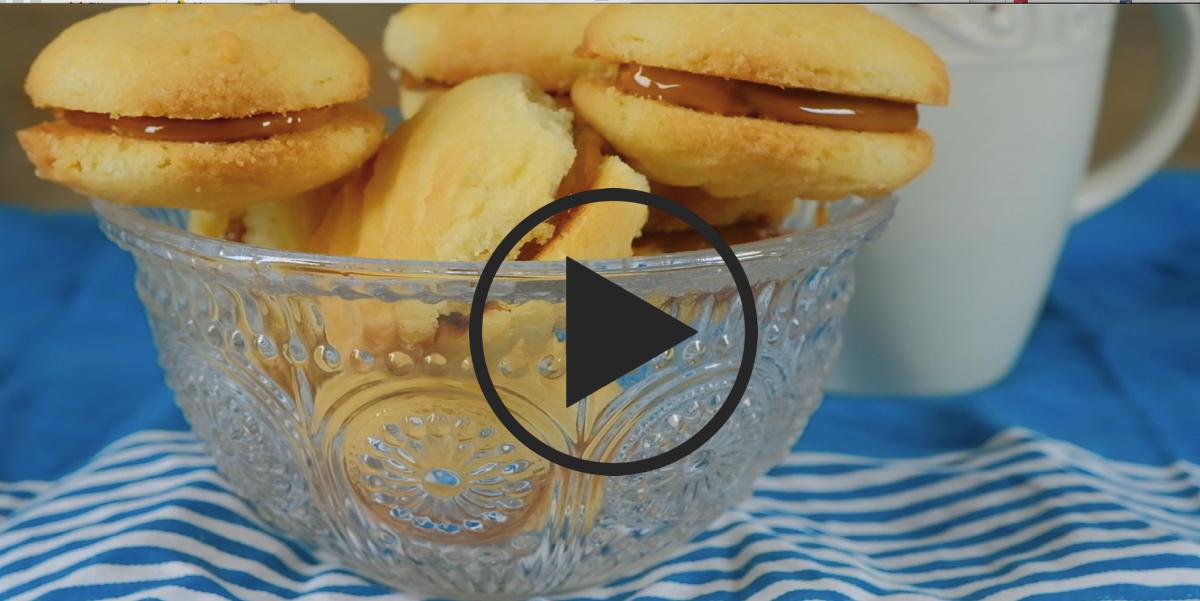 """Печенье """"Тающий момент"""": видео-рецепт"""
