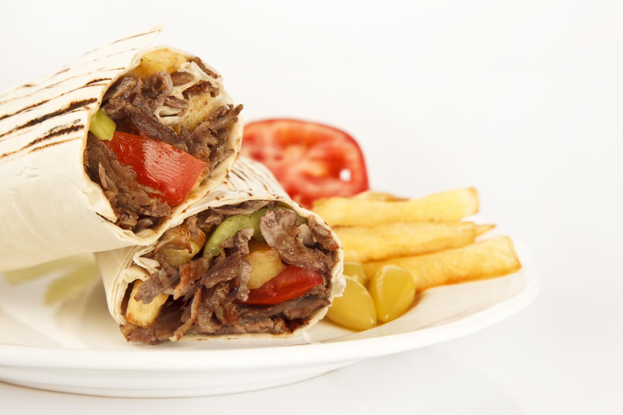 Турецкий донер-кебаб по-домашнему