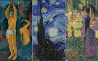 Живопись: Разнообразие в единстве:как постимпрессионисты на рубеже XIX-ХХ веков пытались воссоздать сущность мироздания