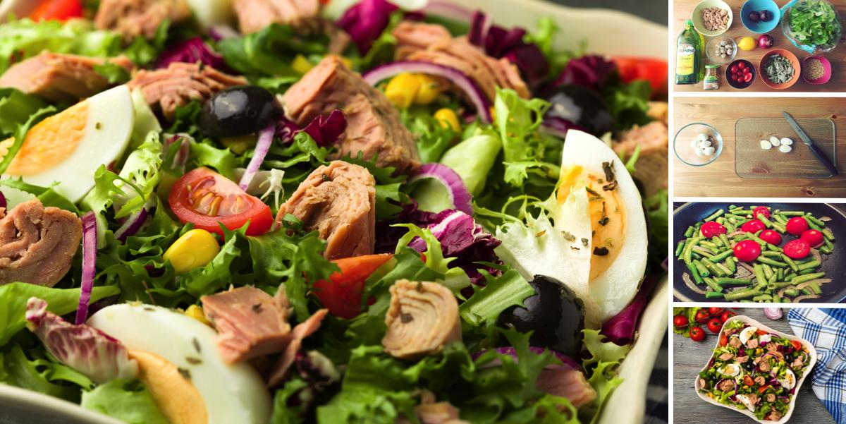 Фото Самый вкусный салат с тунцом: пошаговый фото-рецепт