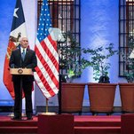 In Latin America, Pence Aims to Soften 'America First' Message