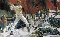Живопись: Почему эпическая картина «Оборона Севастополя» А. Дейнеки вызвала бурные споры, и зачем для нее позировала женщина