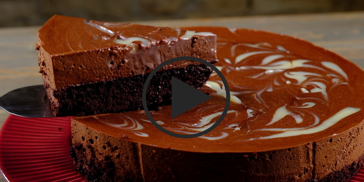 Шоколадный пирог с шоколадным кремом