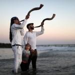 Празднование еврейского Нового года Рош Ха-Шана