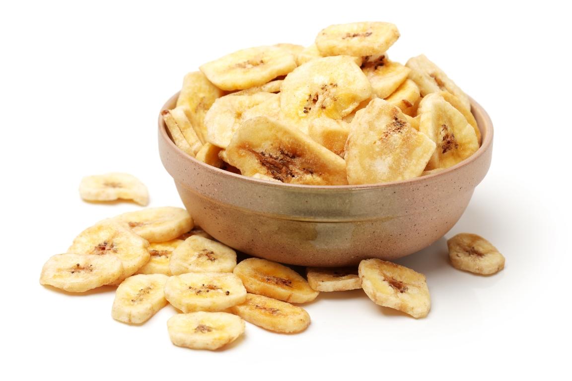 Хрустящие банановые чипсы