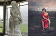Фотография: Художница дарит новые обличья старинным мраморным статуям с помощью цвета