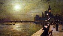 Живопись: Реалистичные картины «сумеречного» художника-викторианца Гримшоу, который рисовал лунный свет