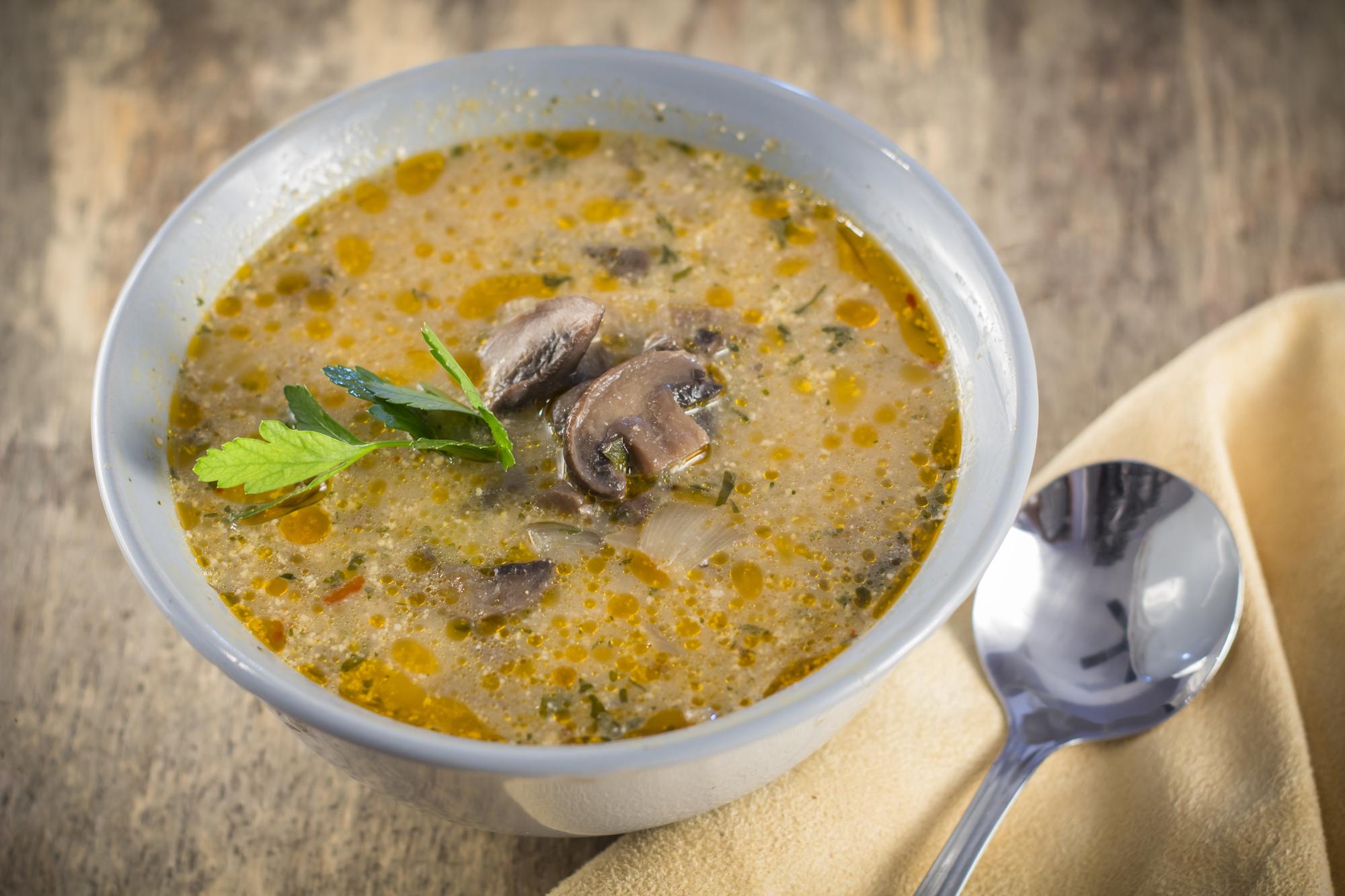 Венгерский суп с грибами