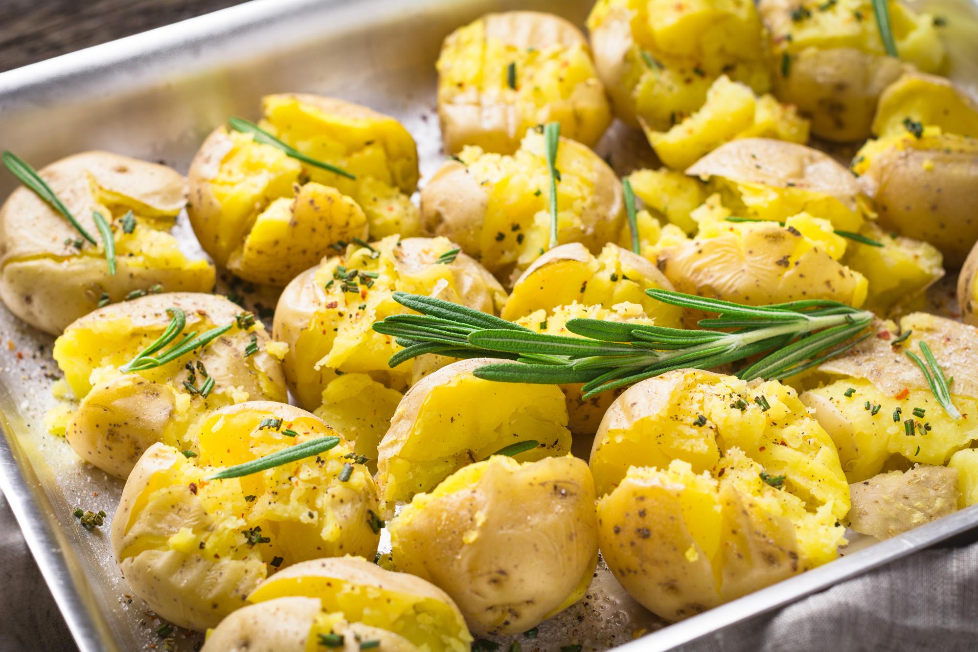 Идеальный запеченный картофель от Джейми Оливера