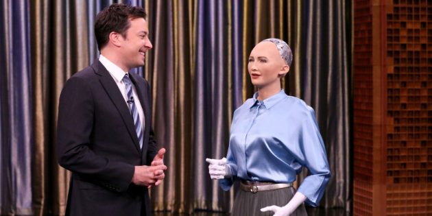Фото Зачем создали робота-гуманоида Софию и угрожает ли она человечеству