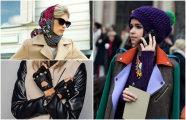 Fashion: 15 модных «теплых» аксессуаров, которые помогут встретить холода при параде