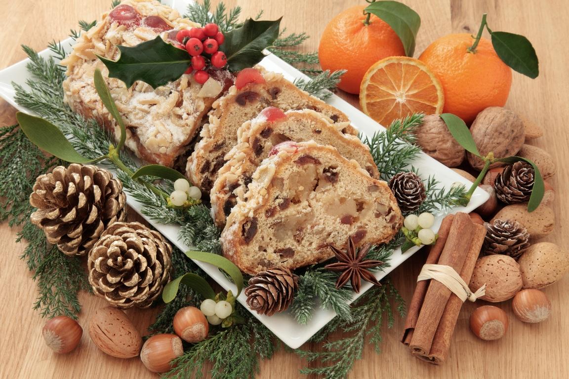 Ароматный рождественский кекс