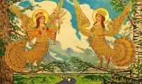 Фото Литература: Загадочные чудо-птицы в славянской мифологии: Что обещают людям  Алконост, Сирин, Гамаюн и другие...