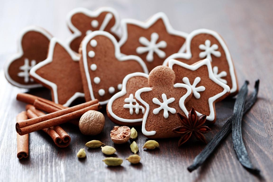 Ароматное шоколадно-имбирное печенье
