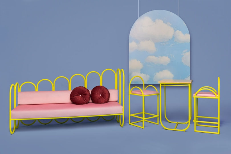 Photo of ARCO: A 70s-Inspired Furniture Collection by Masquespacio for Houtique