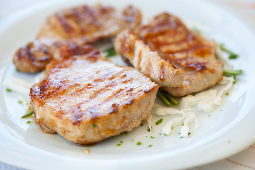 Мясо в маринаде из киви