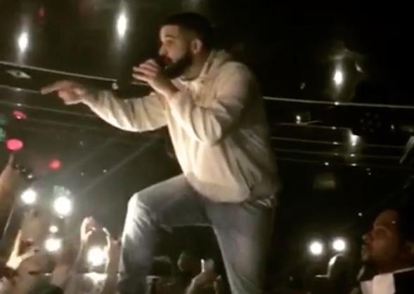 Photo of Watch Drake Tell a Shitty Fan to Stop Groping Women