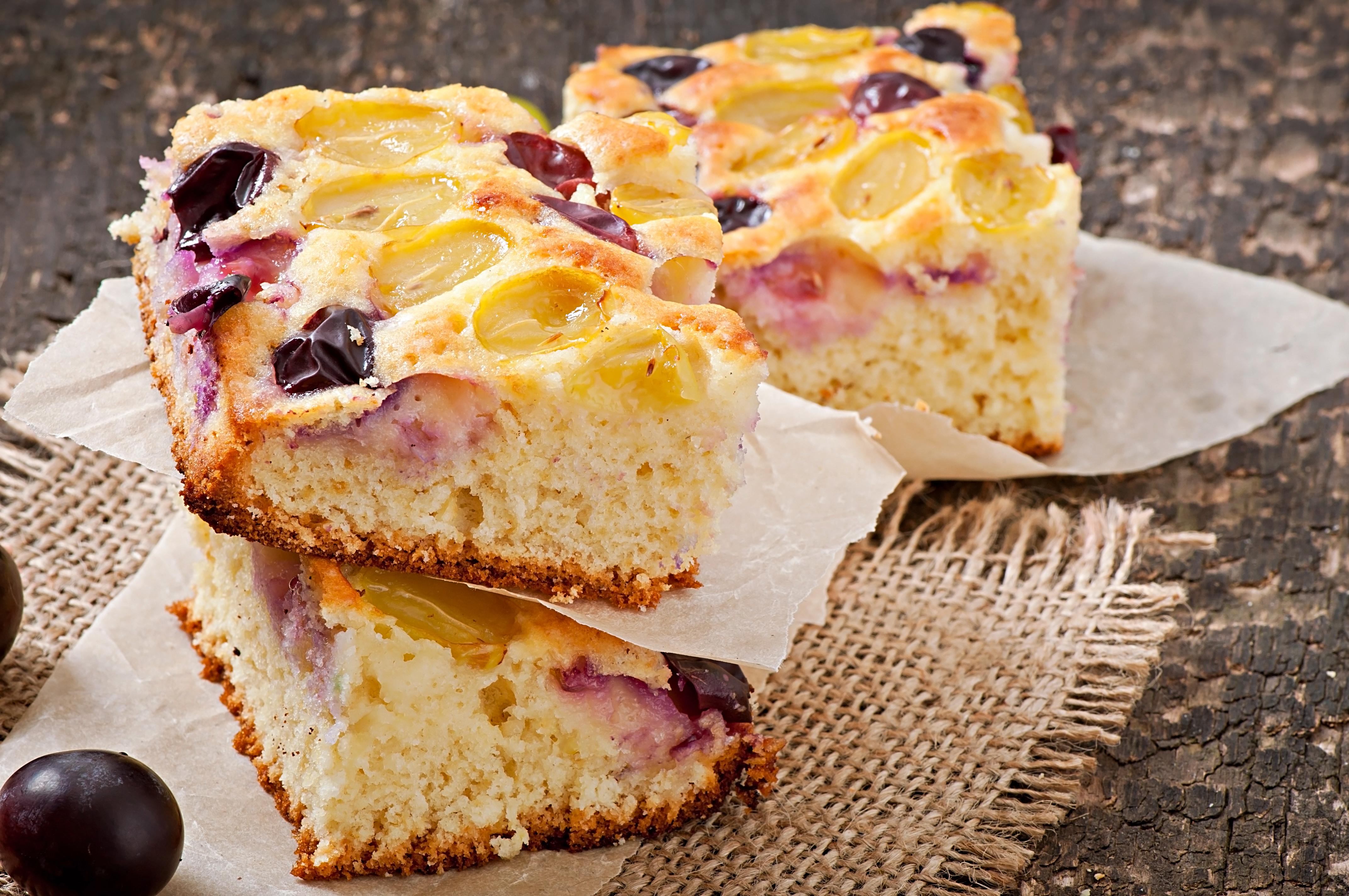Виноградный пирог от Джейми Оливера