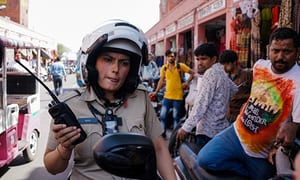Delhi police set up all-female motorbike squad to tackle crime against women