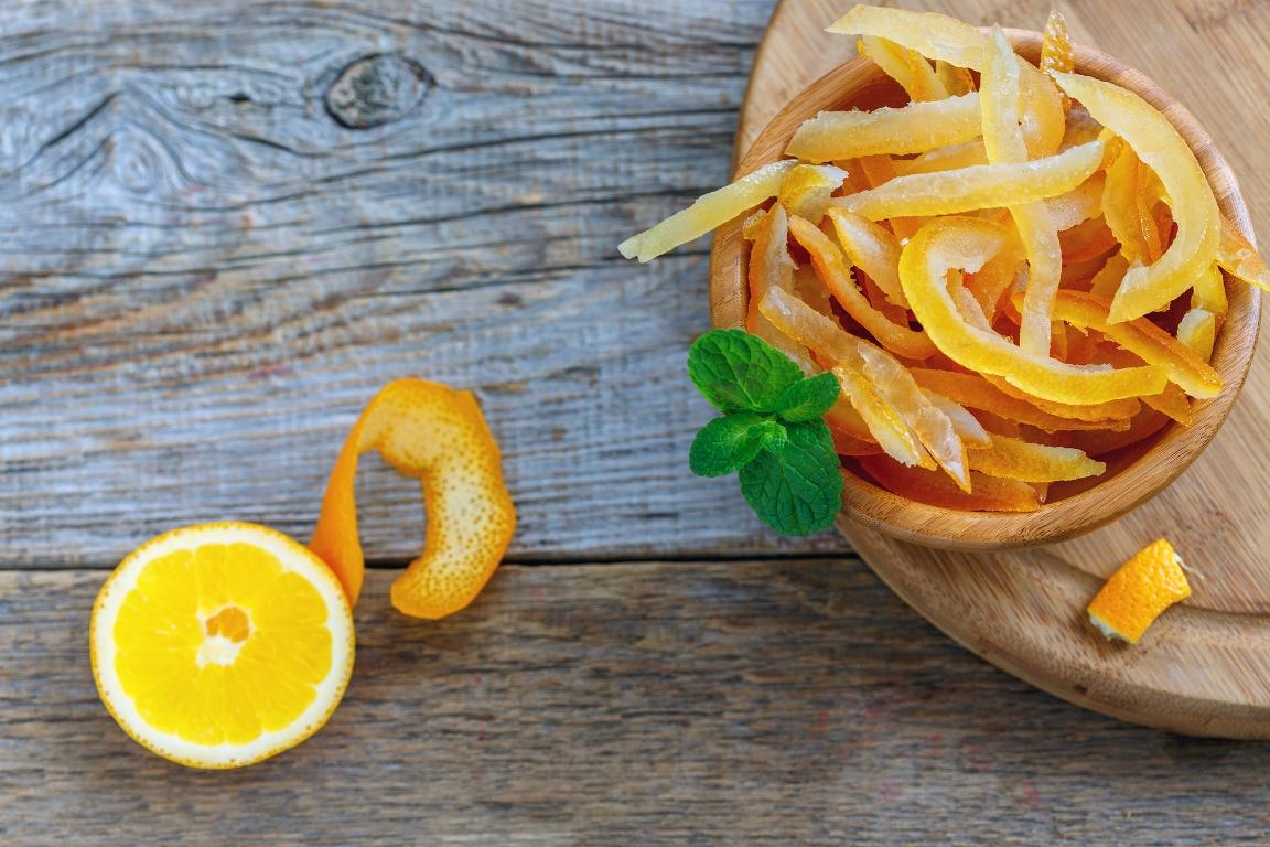 Вкуснейшие апельсиновые цукаты