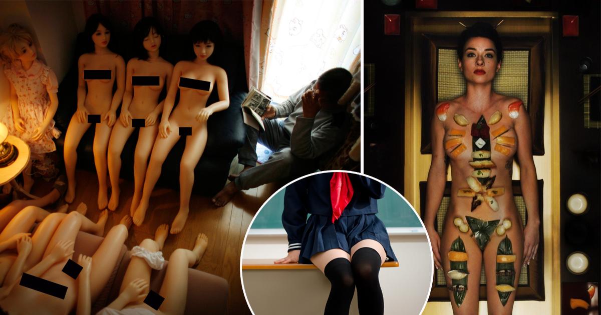 японцев сексуальные причуды