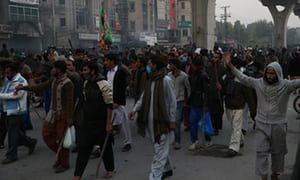 Pakistan calls on army to restore order as blasphemy protests spread