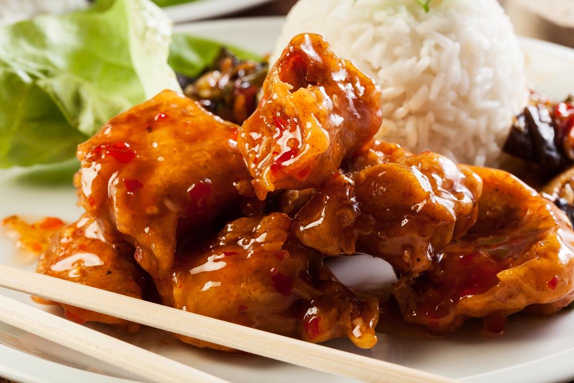Вкуснейшая курица в кисло-сладком соусе по-китайски