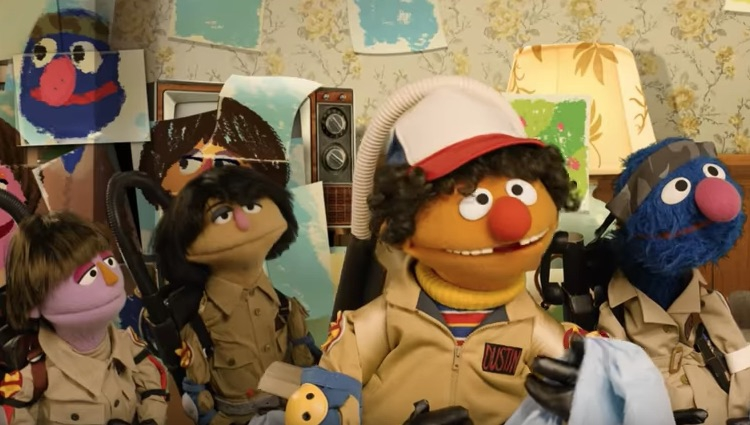 """Photo of Stop everything and watch this """"Sesame Street"""" parody of """"Stranger Things"""""""