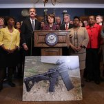Op-Ed Columnist: Oh Lord, Now the Gun Thing's Back