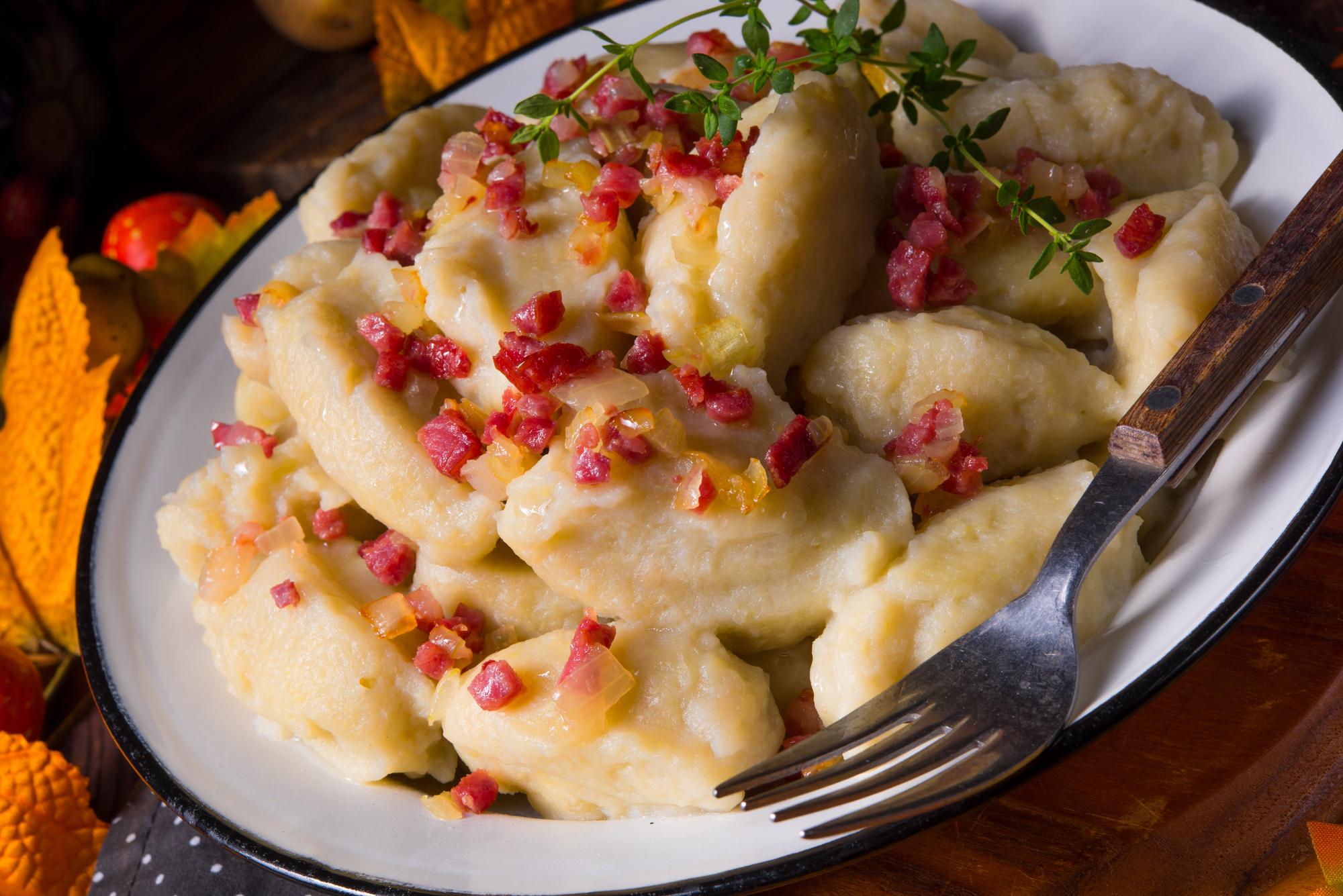 Копытка – польские картофельные клёцки