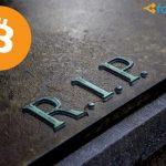 СМИ «похоронили» биткоин уже более 200 раз
