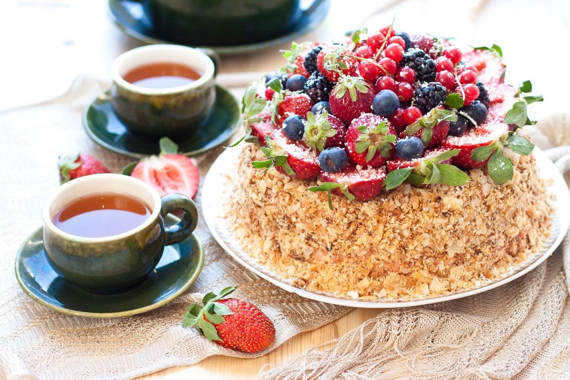 """Праздничный торт """"Наполеон"""""""