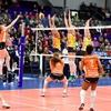 Красноярские волейболистки успешно стартовали в Кубке ЕКВ