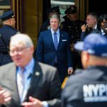 Photo of Police Union Is Sending Officers to Iowa to Protest de Blasio