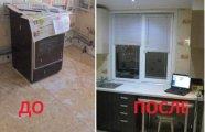 Школа ремонта: Как преобразить крохотную кухню: Хозяин хрущевки сделал ремонт на площади всего 5 кв. метров