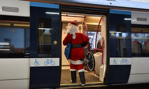 The carriage belted out Christmas songs: readers' positive public transport tales