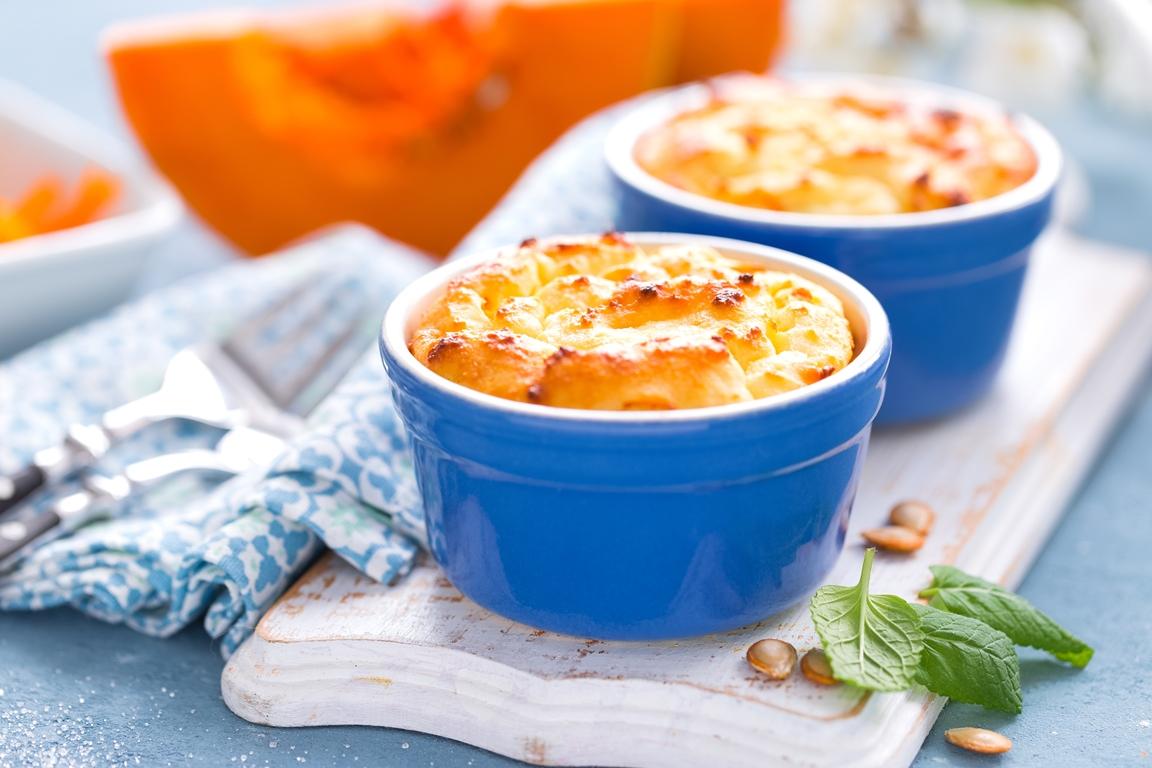 Вкуснейшая тыквенная запеканка с сыром