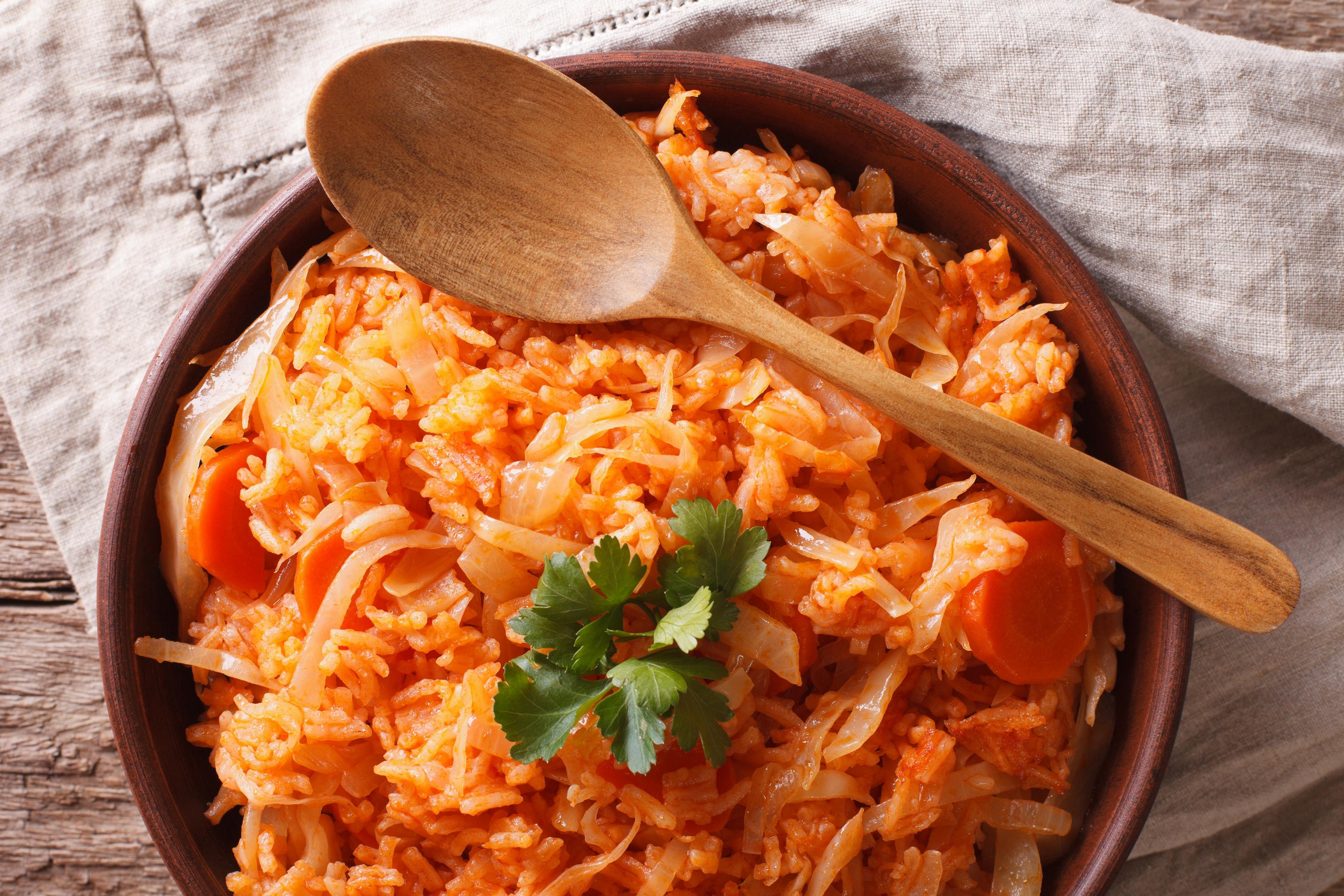 Лаханоризо или рис с капустой по-гречески