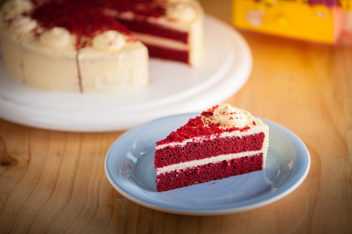 "Изысканный торт ""Красный бархат"""