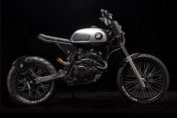Photo of ANCIENT RACE. Republicas Motocicletas' 'Old Power' Honda NX350 Tracker