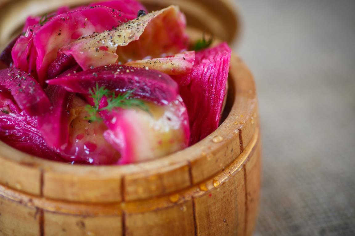 Вкуснейшая маринованная капуста по-гурийски
