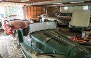 Автомобили: В старом гараже нашли коллекцию классических спорткаров, о которых забыли на 30 лет