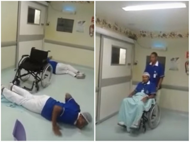 Photo of Funcionários de hospital na Bahia são demitidos após gravarem vídeo de 'Que Tiro Foi Esse?'