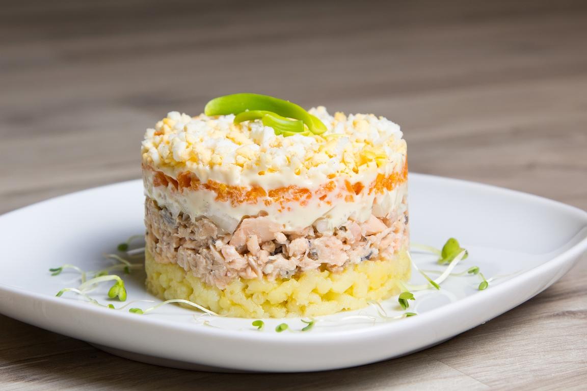 """Любимый салат """"Мимоза"""""""