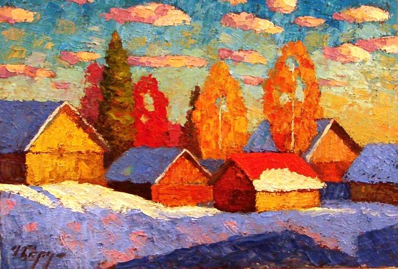Выставка «Пейзажи русской деревни» на ВДНХ