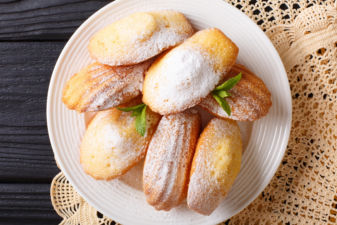 "Аппетитное печенье ""Мадлен"""