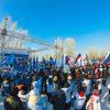 """Фото Акция """"Россия в моем сердце!"""" собрала сотни тысяч россиян"""